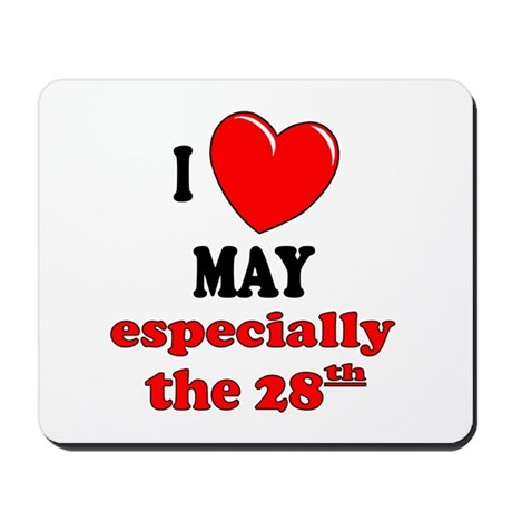 May 28th Mousepad