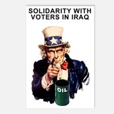 SOLIDARITY WITH VOTERS IN IRA Postcards (Package o