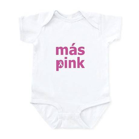 Más Pink Infant Bodysuit
