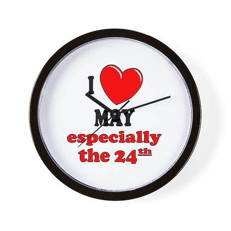 May 24th Wall Clock