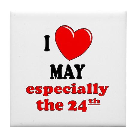 May 24th Tile Coaster