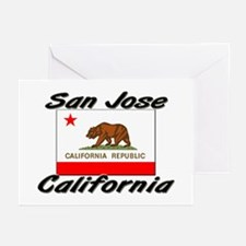 San Jose California Greeting Cards (Pk of 10)