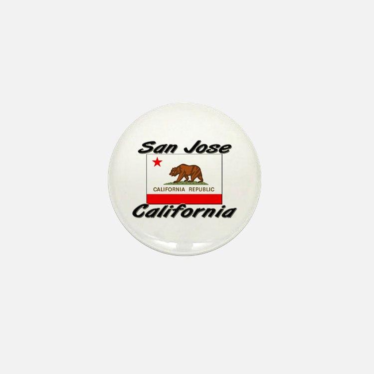 San Jose California Mini Button