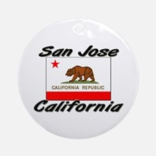 San Jose California Ornament (Round)