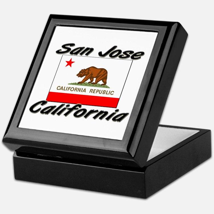 San Jose California Keepsake Box