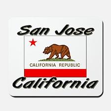 San Jose California Mousepad