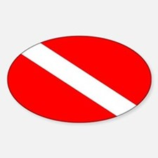 Diver Down Flag Decal