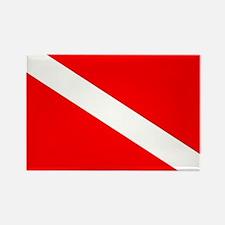 Diver Down Flag Magnets