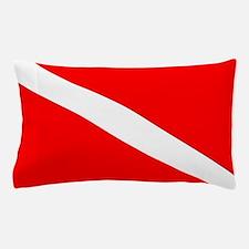 Diver Down Flag Pillow Case