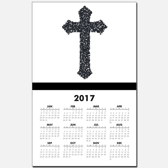 cross Calendar Print