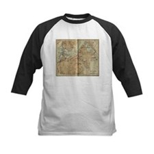 Vintage Map of Ottawa Canada (1894 Baseball Jersey