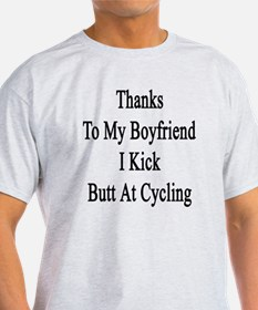 Boyfriend cyclist T-Shirt
