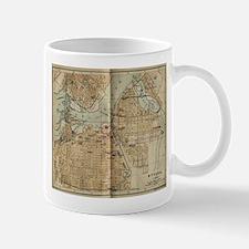 Vintage Map of Ottawa Canada (1894) Mugs
