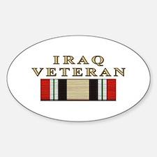 Iraq Vet Oval Decal