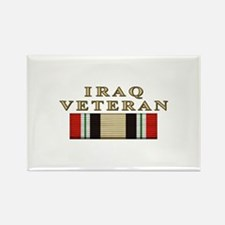 Iraq Vet Rectangle Magnet