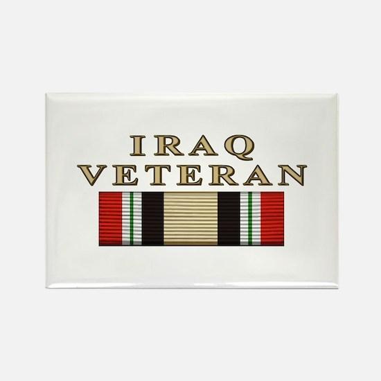 Iraq Vet Rectangle Magnet (10 pack)