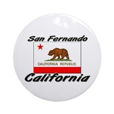 San Fernando California Ornament (Round)