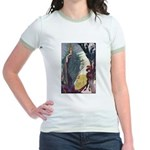 Snow Queen 1 Jr. Ringer T-Shirt