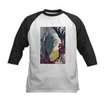 Snow Queen 1 Kids Baseball Jersey