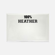 100% HEATHER Magnets