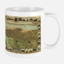 Vintage Pictorial Map of Oakland California ( Mugs