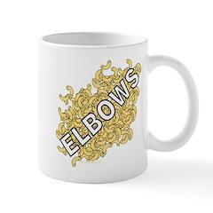 Elbows Text Mug