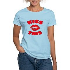 Kiss This Women's Light T-Shirt