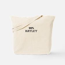 100% HAYLEY Tote Bag