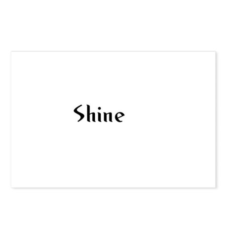Shine Postcards (Package of 8)