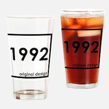 Unique 1992 Drinking Glass