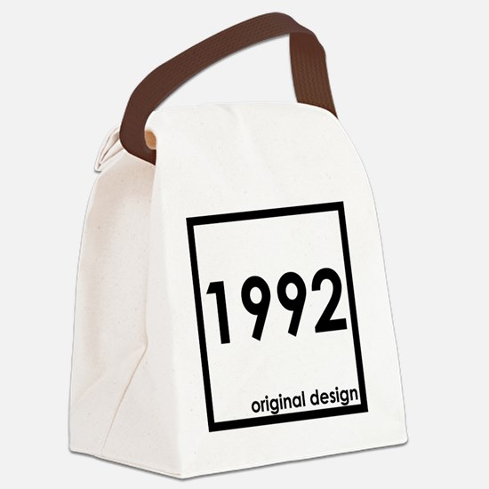 Unique 1992 Canvas Lunch Bag