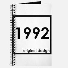 1992 birthday age year born design origina Journal
