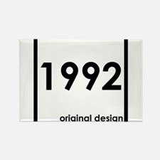 1992 birthday age year born design origina Magnets