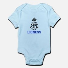 I cant keep calm Im LIONESS Body Suit