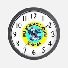 USS Constellation (CVA 64) Wall Clock