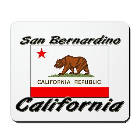 San Bernardino California Mousepad