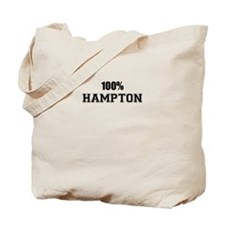 100% HAMPTON Tote Bag