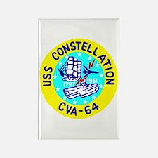 USS Constellation (CVA 64) Rectangle Magnet