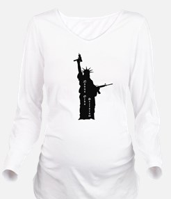 "Lady Liberty with Guns and ""Novus Ordo Seclorum"" L"