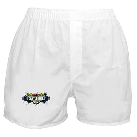 Castle Hill (White) Boxer Shorts