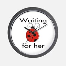 Ladybug Waiting for Her Wall Clock