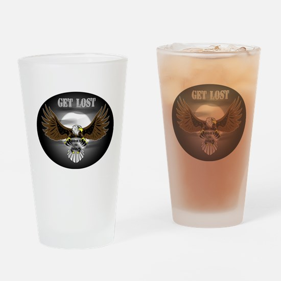 Get lost Drinking Glass