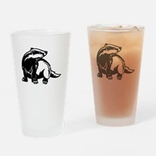Badger Drinking Glass