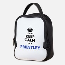 I cant keep calm Im PRIESTLEY Neoprene Lunch Bag