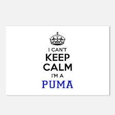 I cant keep calm Im PUMA Postcards (Package of 8)