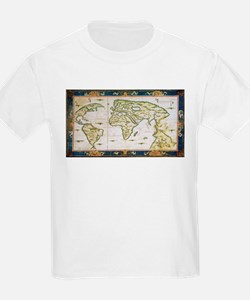 Vintage Map of The World (1566) T-Shirt