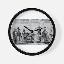 martin van buren Wall Clock