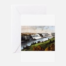 niagra falls Greeting Cards