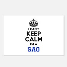 I cant keep calm Im SAAB Postcards (Package of 8)