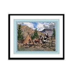 Indian Blessings 12x9 Framed Print